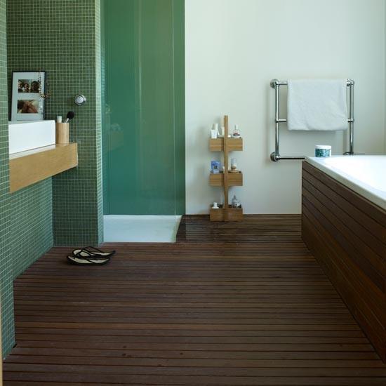 тиковые полы для ванных комнат 2