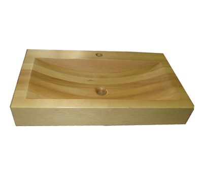 деревянные раковины для ванной